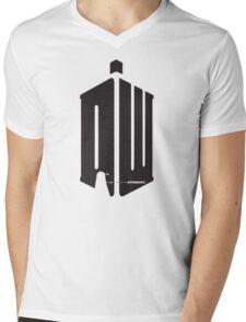 Dalek (exterminate) Mens V-Neck T-Shirt