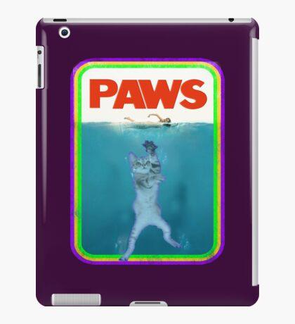 Jaws (PAWS) Movie parody T Shirt iPad Case/Skin