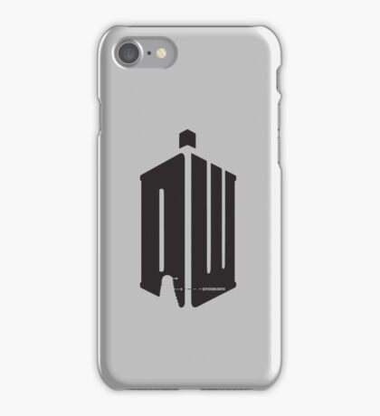 Dalek (exterminate) iPhone Case/Skin