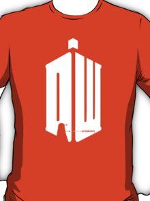 Dalek (exterminate/white) T-Shirt
