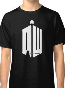 Dalek (exterminate/white) Classic T-Shirt