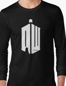 Dalek (exterminate/white) Long Sleeve T-Shirt