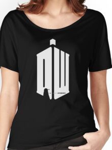Dalek (exterminate/white) Women's Relaxed Fit T-Shirt