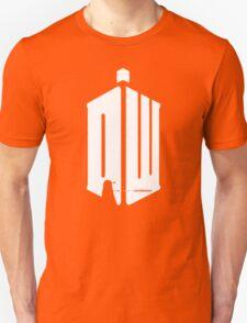 Dalek (exterminate/white) Unisex T-Shirt