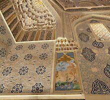 Persian Art, Arabic Script, Moorish Dome by Jane McDougall