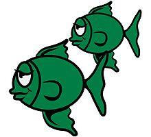 stupid sleepy fish pair by Motiv-Lady