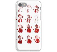 oil paint hands iPhone Case/Skin