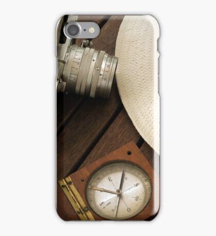 retro photograph camera iPhone Case/Skin