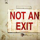 Not an Exit SIgn by leifrogers