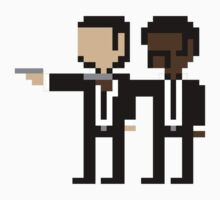 Pulp fiction pixel 8bit by RobertKShaw