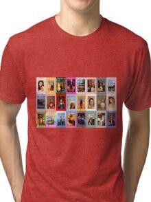 TORI AMOS TAROT MINOR ARCANA Tri-blend T-Shirt