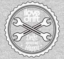 I Love Drift Roundel Kids Tee