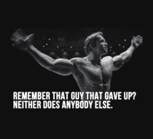 Arnold Conquer Quote - Mr Olympia by RobertKShaw