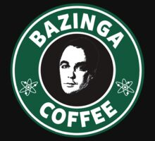 Bazinga Coffee(Sheldon Cooper) by artemisd