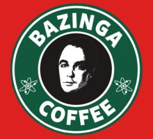 Bazinga Coffee(Sheldon Cooper) Kids Clothes