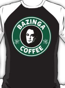 Bazinga Coffee(Sheldon Cooper) T-Shirt