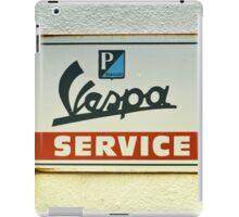 vespa service iPad Case/Skin