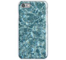 pool water iPhone Case/Skin