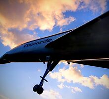 Concorde Sunset 2 - Brooklands - HDR by Colin J Williams Photography