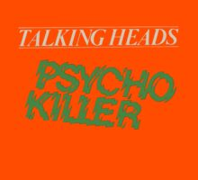talking heads orange psycho killers by CORDERA
