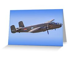 B-25J Mitchell - Shoreham 2013 Greeting Card