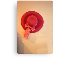 pretty hat Canvas Print
