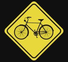 Cyclist Warning Sign v1 Kids Clothes