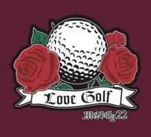 Love Golf - Ball & Roses by mcnally22