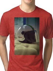 helmet Tri-blend T-Shirt