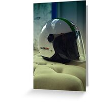 helmet Greeting Card