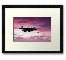 Jaguar Sunrise Framed Print
