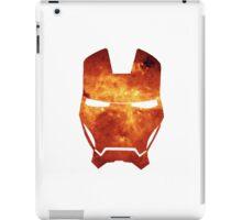 orange helmet iPad Case/Skin