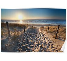 Way to the beach Poster