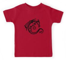 Dragon and Stone (for light t-shirts) Kids Tee