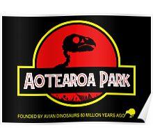 Aotearoa Park (Kakapo skull) Poster