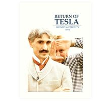 Return of Tesla Poster Image 2 Art Print