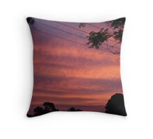 Early Evening Sunset Throw Pillow