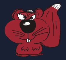 Sammy, the Red Irish Squirrel  Kids Tee