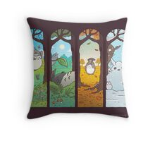 Spirit of the Seasons Throw Pillow