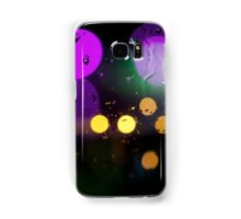 colored city lights Samsung Galaxy Case/Skin