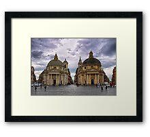 Piazza Del Popolo Framed Print