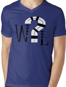 Weird Love Mens V-Neck T-Shirt