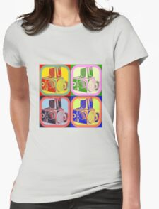 4 Hasselblad Womens Fitted T-Shirt