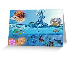 Protect Our Oceans? Greeting Card
