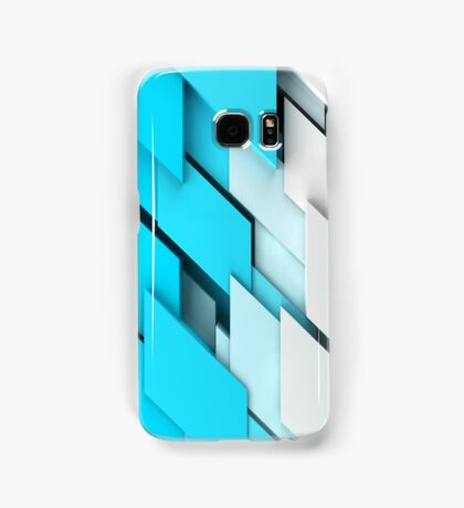 geometric shapes background Samsung Galaxy Case/Skin
