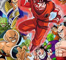 Dragon Ball Z - Saiyan Saga by EternalParadox