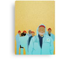 Team Zissou.  Canvas Print