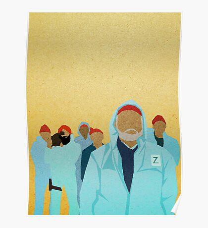 Team Zissou.  Poster