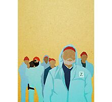 Team Zissou.  Photographic Print