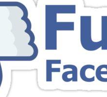 Fuck Facebook Sticker